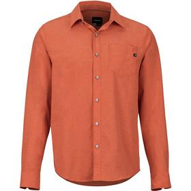 Marmot Aerobora Langærmet T-shirt Herrer, rød